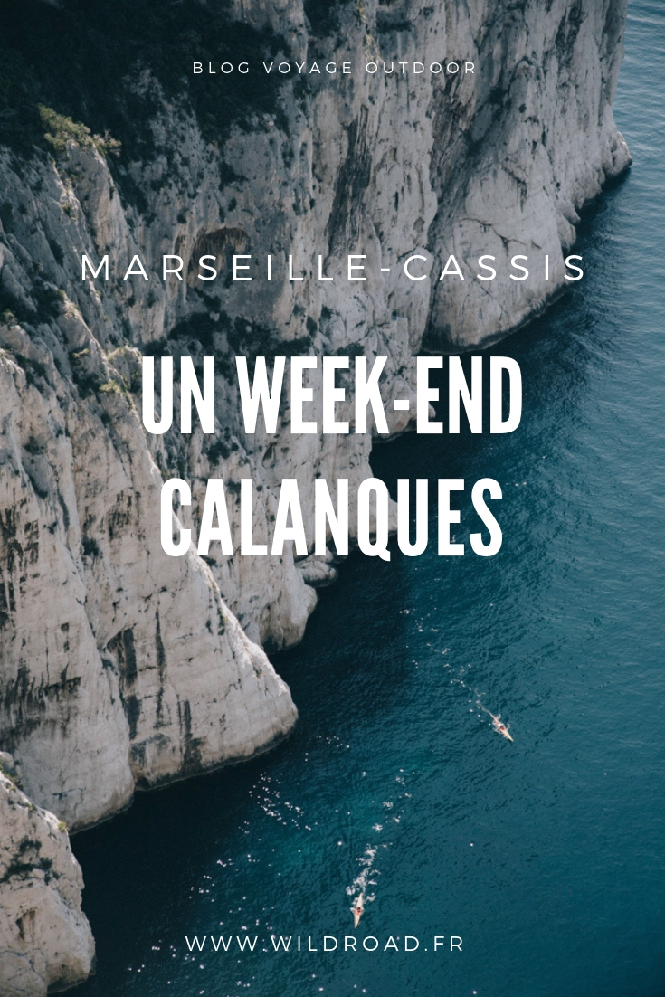 week-end sportif calanques Marseille