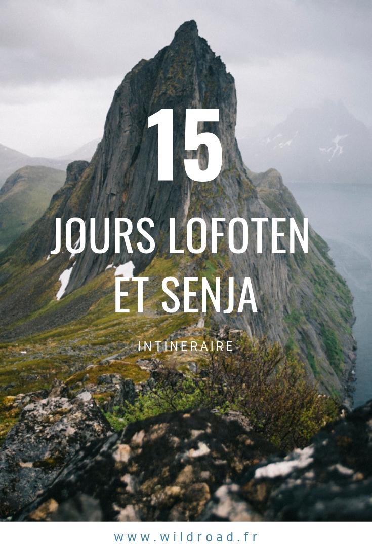 15 jours itinéraire senja et lofoten norvège