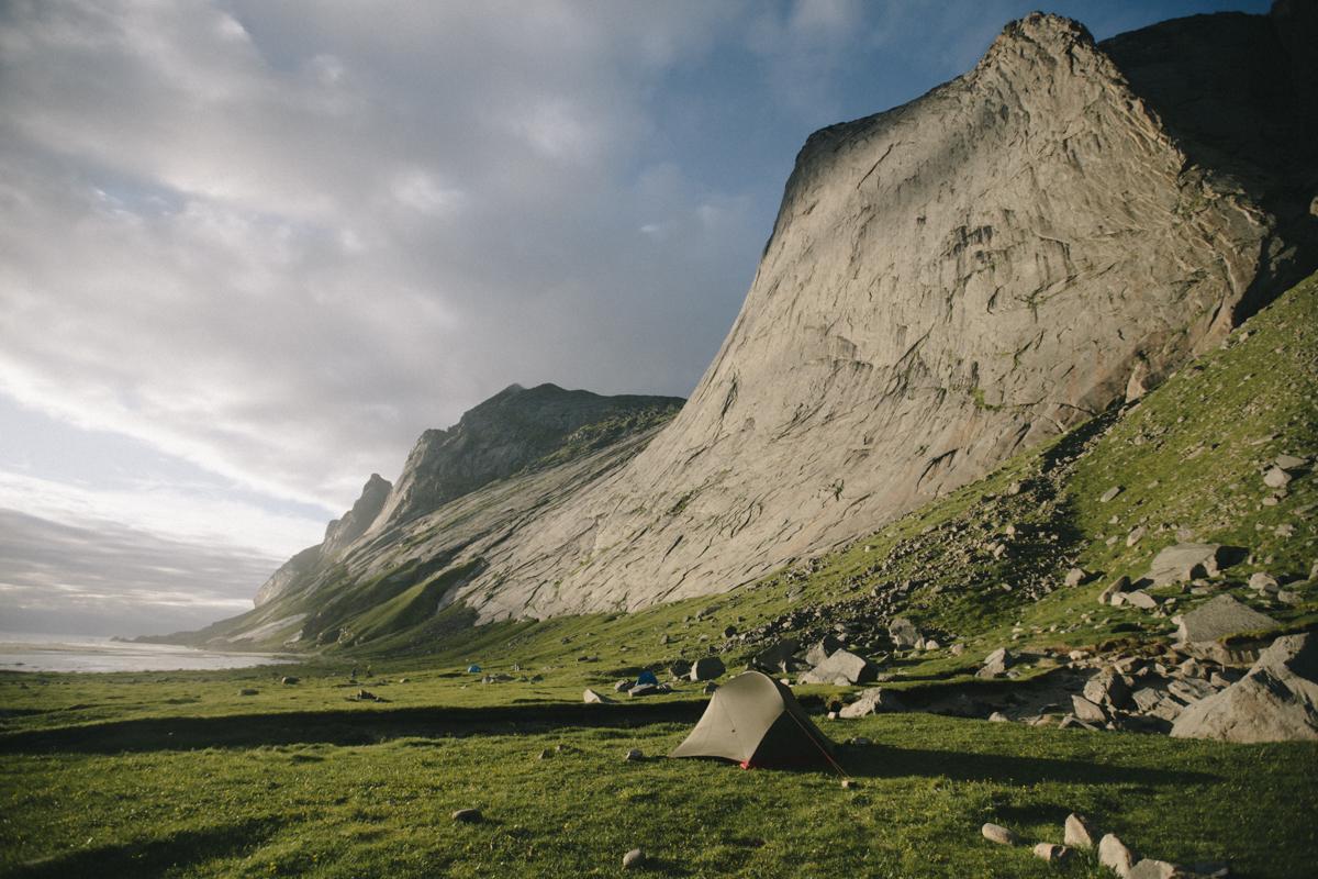 Bunes beach Lofoten