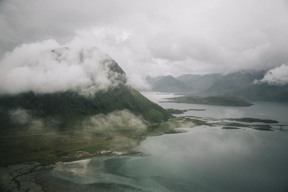 Nubben Lofoten norvège randonnée