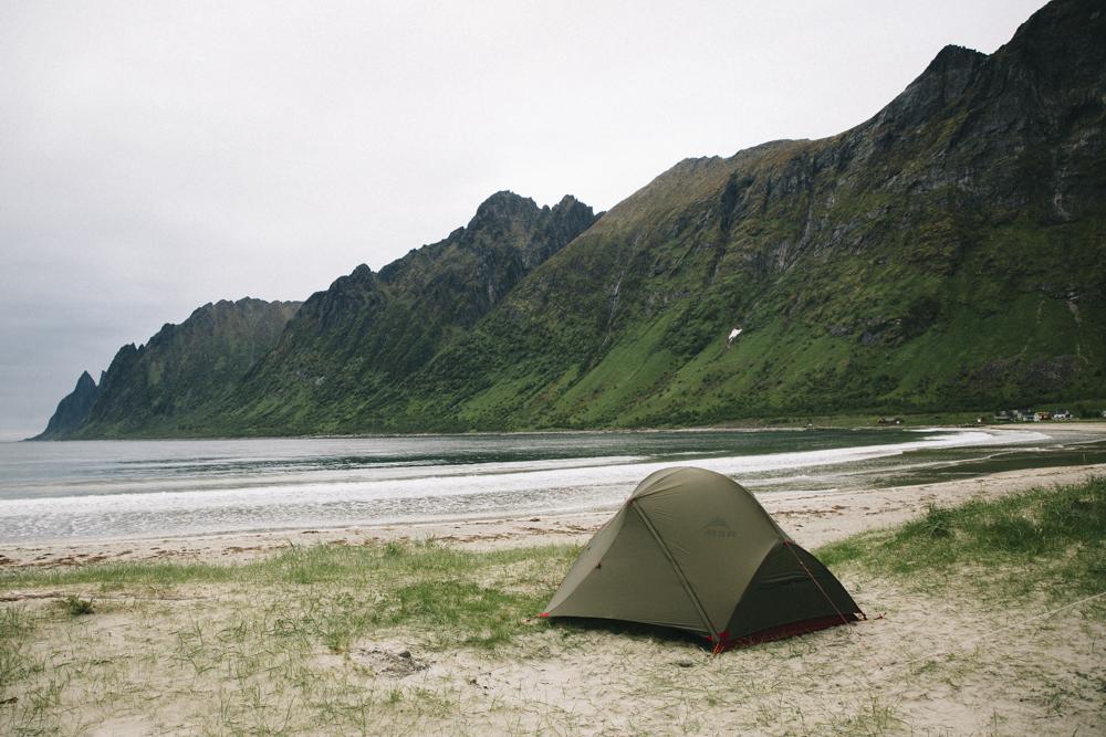 Ersfjord beach Lofoten