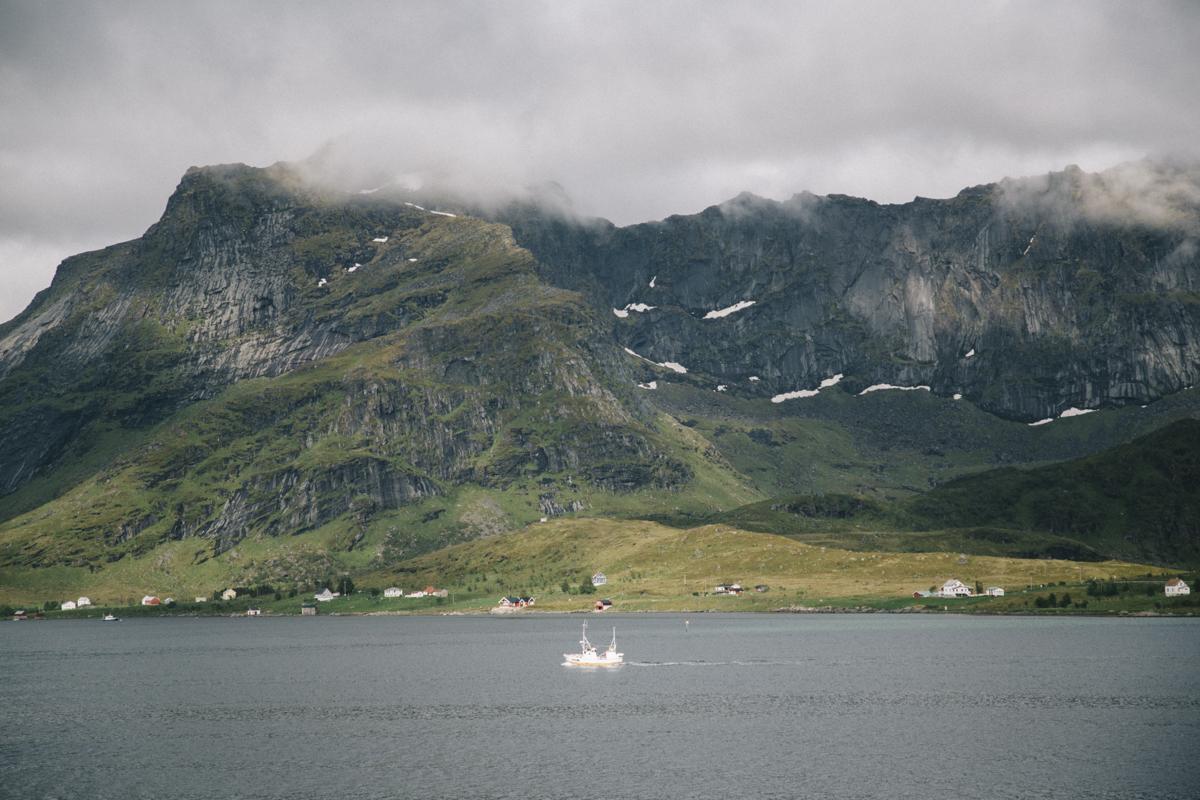 Lofoten en ferry