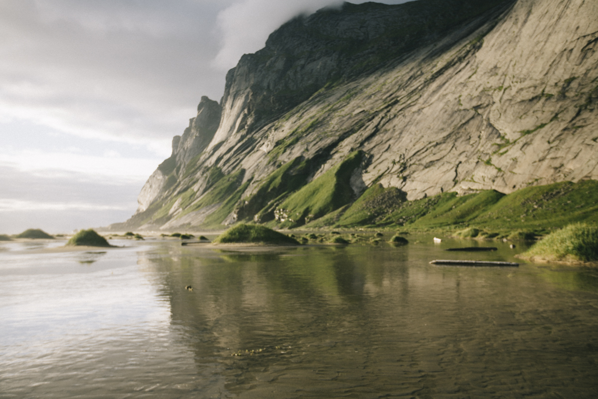 Bunes beach lofotens