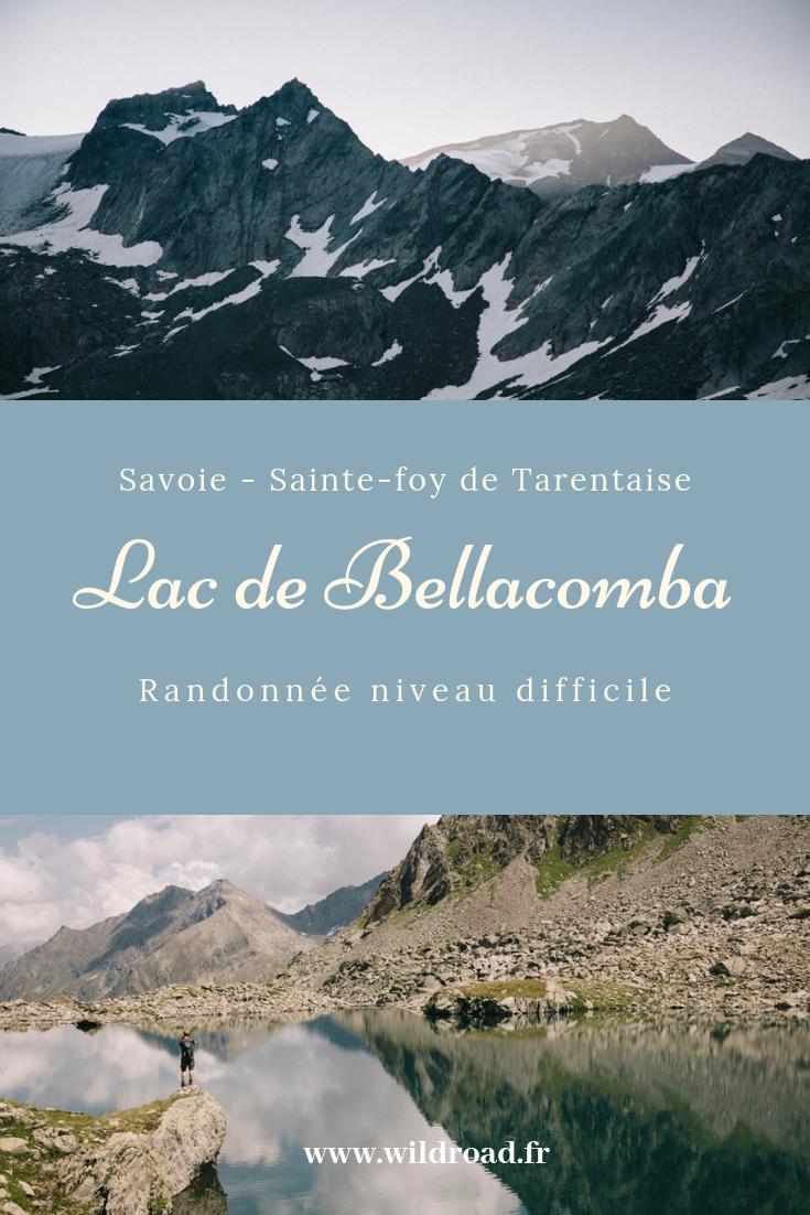 la randonnée du Lac de Bellacomba en savoie