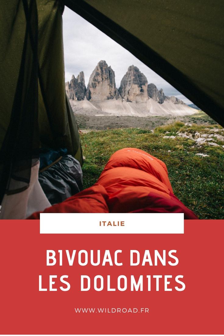 Guide pour un bivouac dans les Dolomites, ce massif calcaire au nord de l'Italie