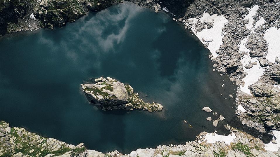 Le Lac du cyclope une randonnée difficile. crédit photo : Clara Ferrand - blog Wildroad