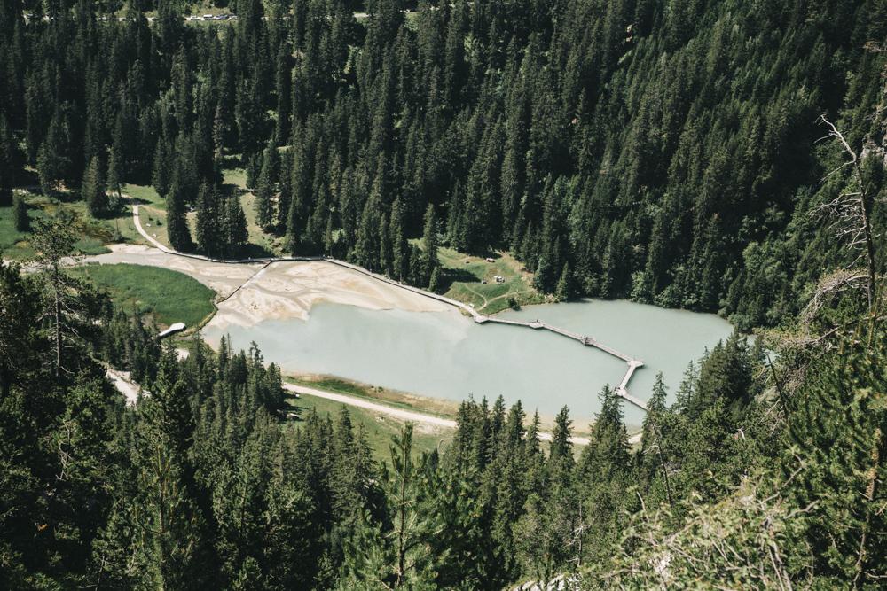 Lac de la rosière Courchevel