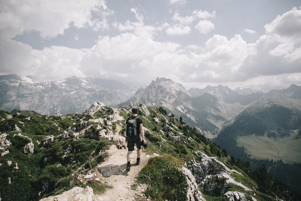 Randonnée autour de Courchevel de la Dent du Villard. crédit photo : Clara Ferrand - blog Wildroad