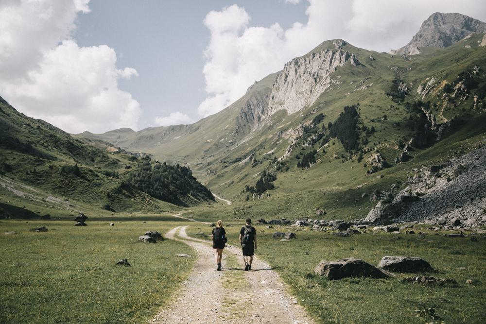 Randonnée difficile au départ de Courchevel des lacs Merlet. crédit photo : Clara Ferrand - blog Wildroad