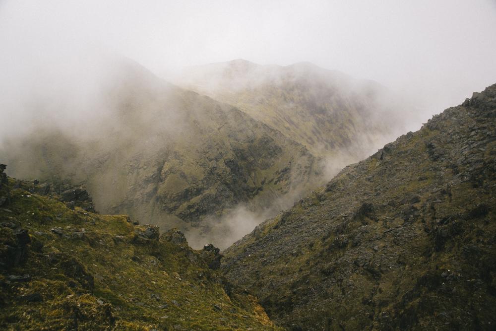 Le sommet de Carruntuohil randonnée