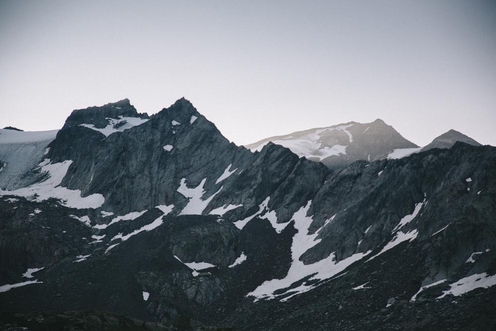 La glacier du Ruitor dans le parc national de la Vanoise. crédit photo : Clara Ferrand - blog Wildroad