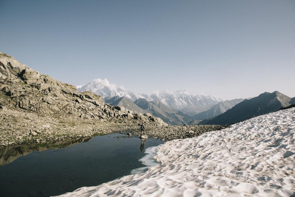 Col du Tachuy une randonnée hors des sentiers battus pour avoir un point de vue sur le Mont-Blanc