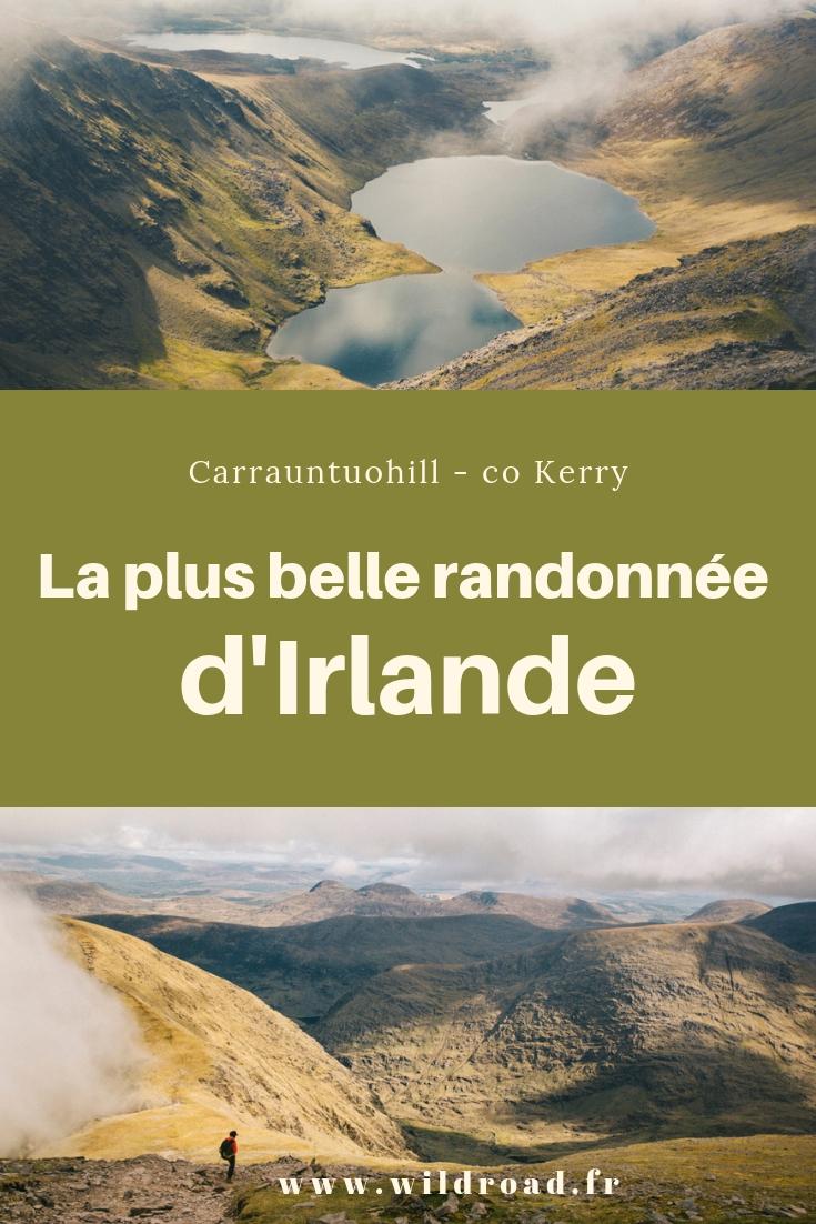 La plus belle randonnée d'Irlande carrauntuohill