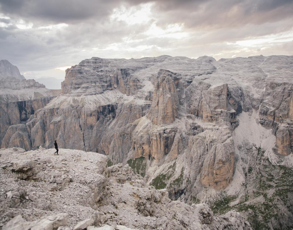 Passo Pordoi Dolomites