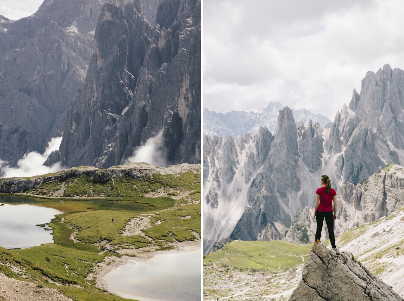 Roadtrip Dolomites tre cimes di Lavaredo