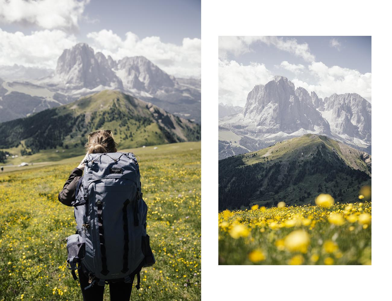 Roadtrip Dolomites Montagne Seceda