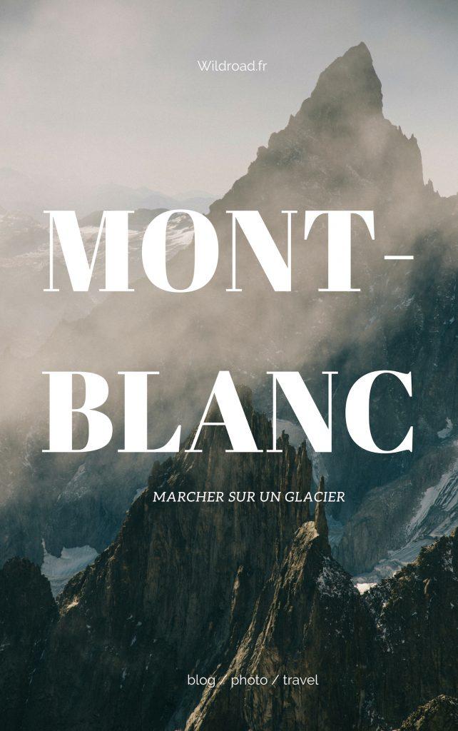 Pinterest Galcier Montblanc
