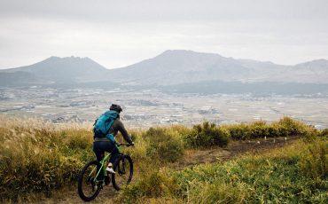 vélo Kumamoto Kyushu Japon activité