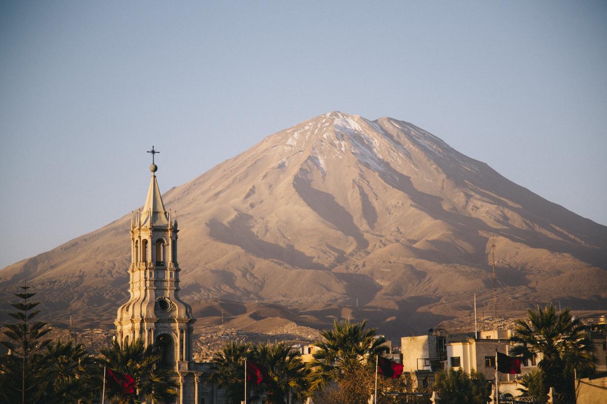 Arequipa el Misti los andes bed and brekfast