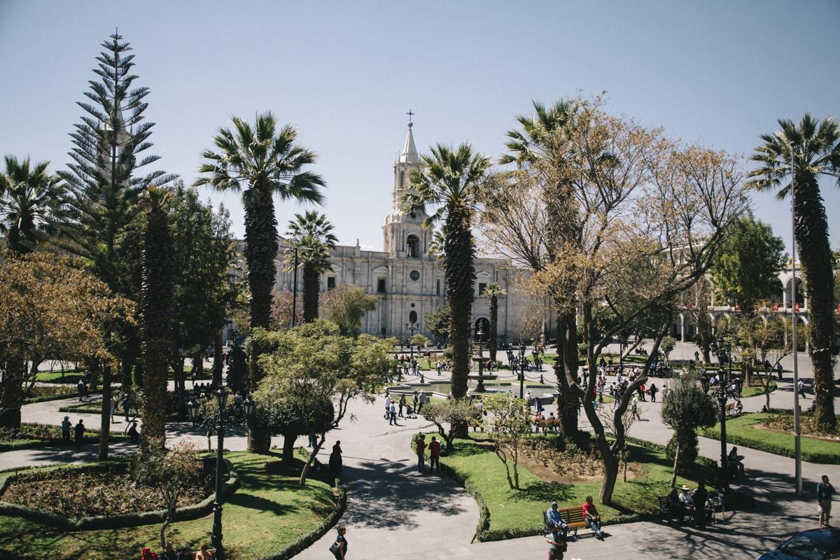 arequipa parc Plaza de armas