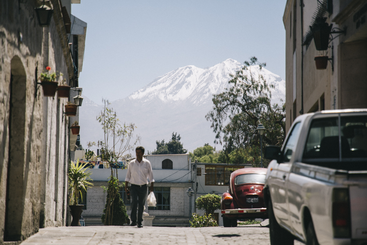 Arequipa Ruelles volcan guide tour