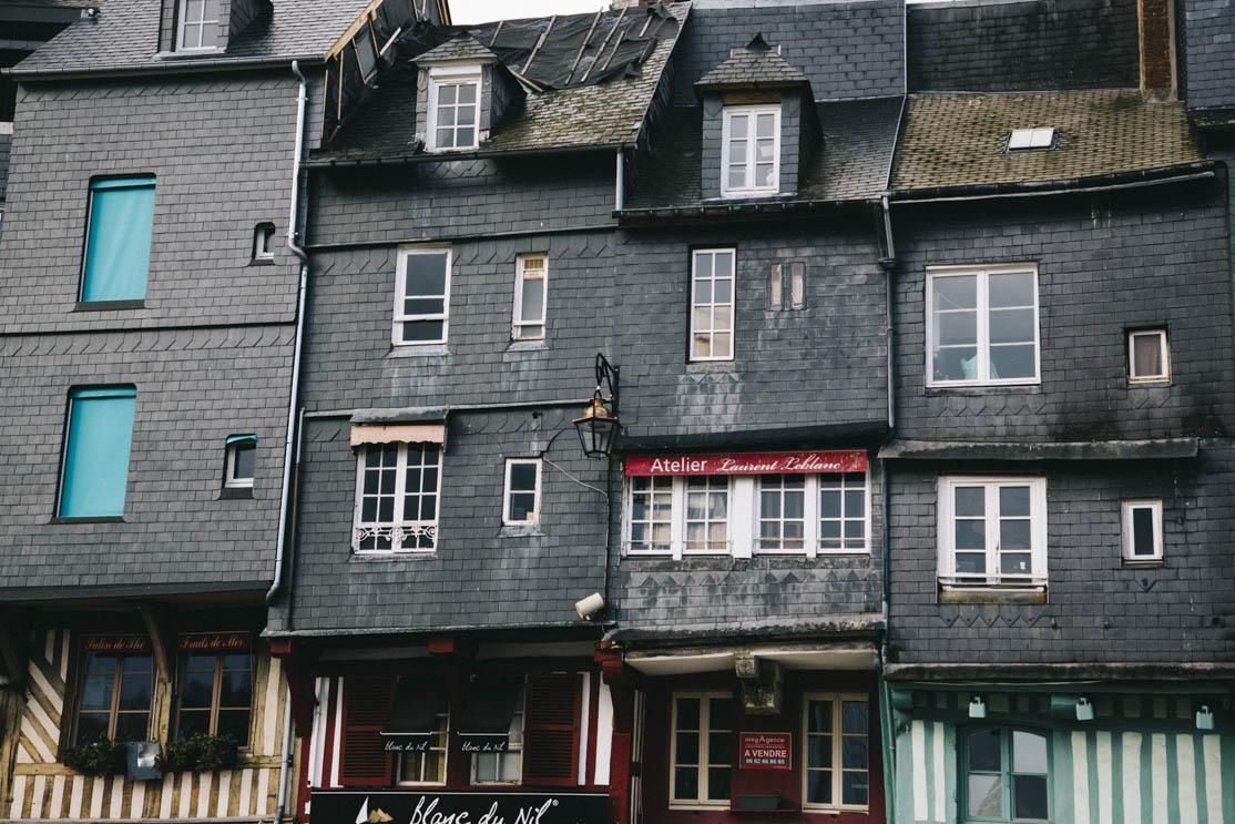 Honfleur quais Sainte-Catherine