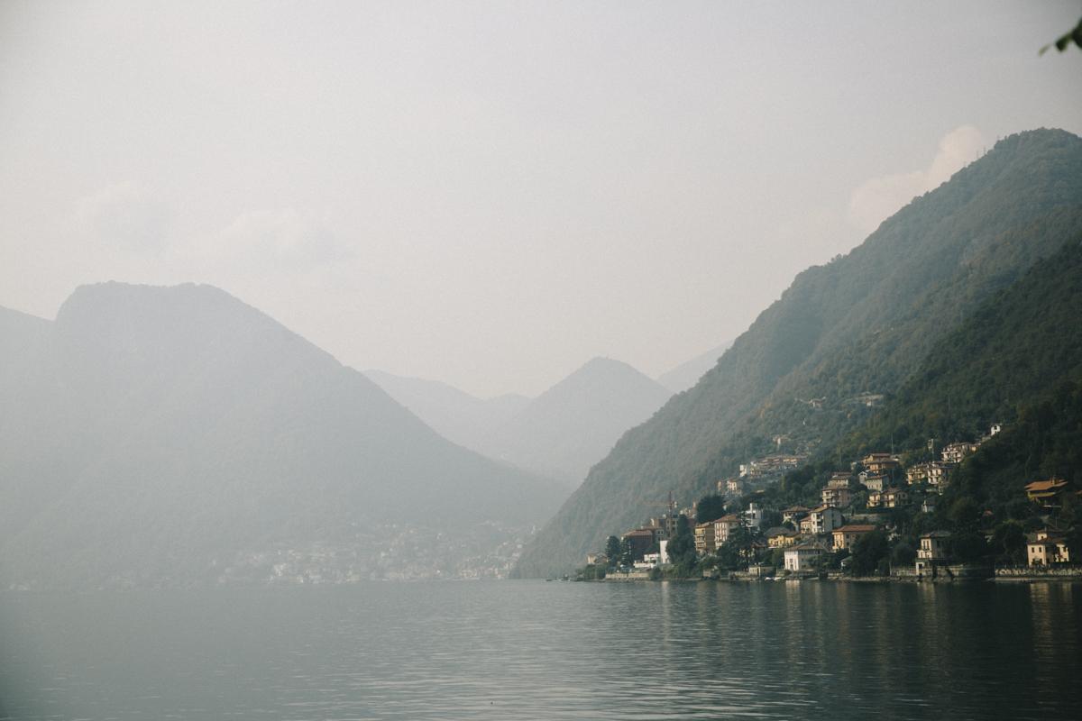 Lac de Côme Alpes italiennes