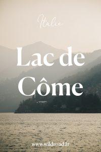 Lac de Côme en Riva