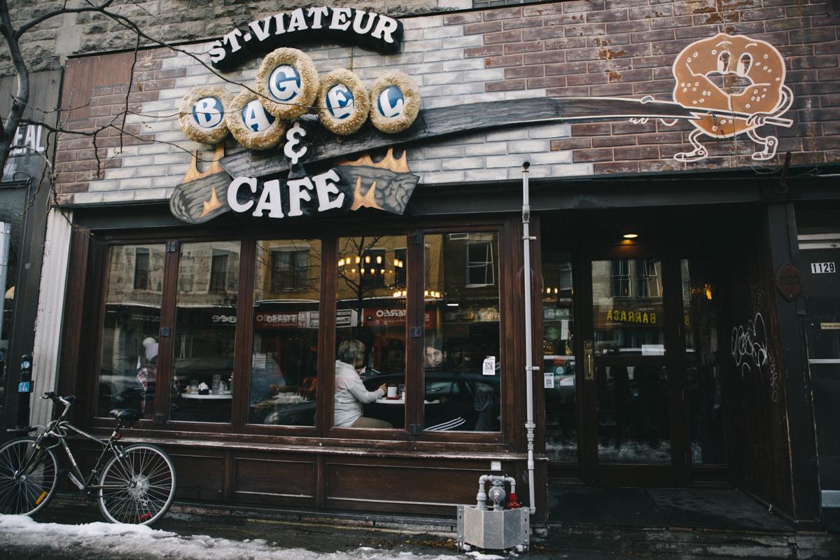 Montreal Bagel st-viateur
