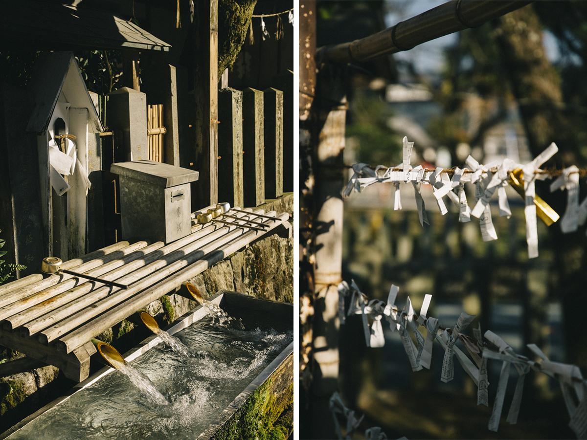 se purifier dans un sanctuaire shinto