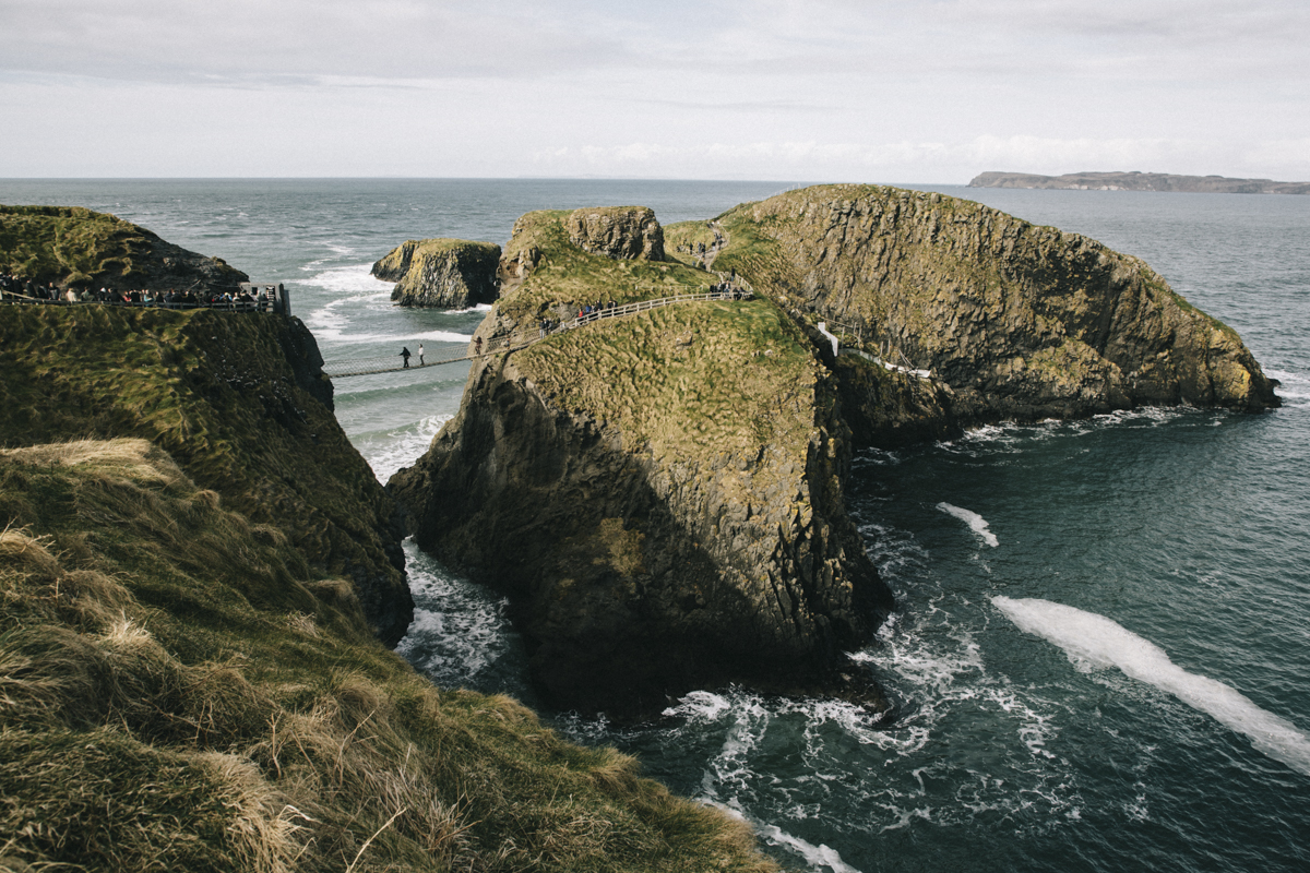 Carrick A Rede giant's causeway