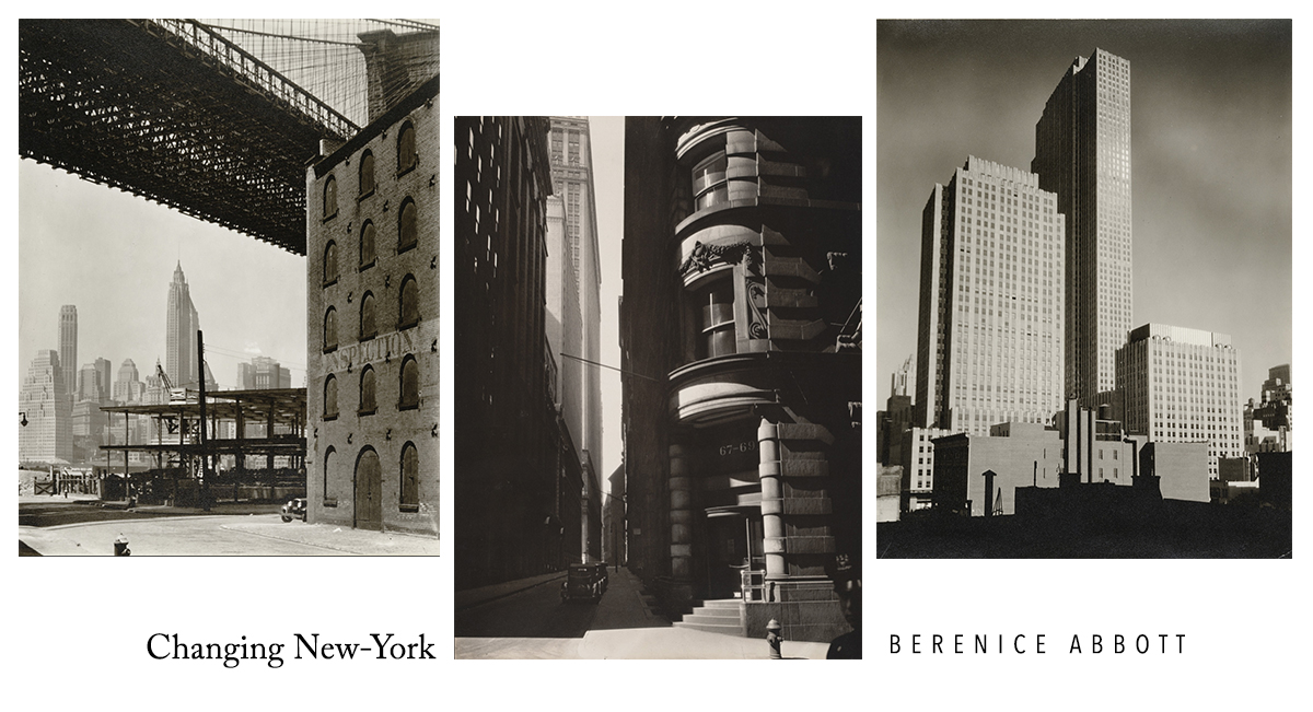 Changing New-York Berenice Abbott