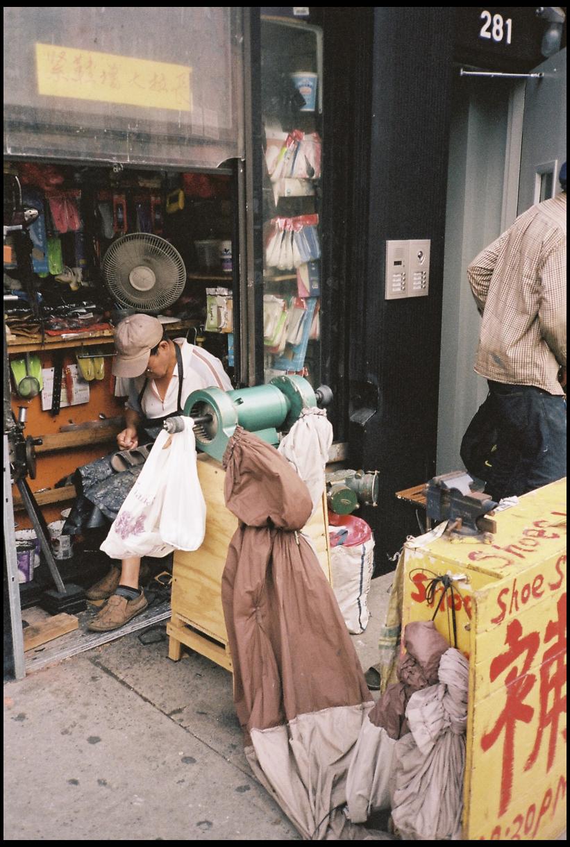 Chinatow New-York photographie argentique
