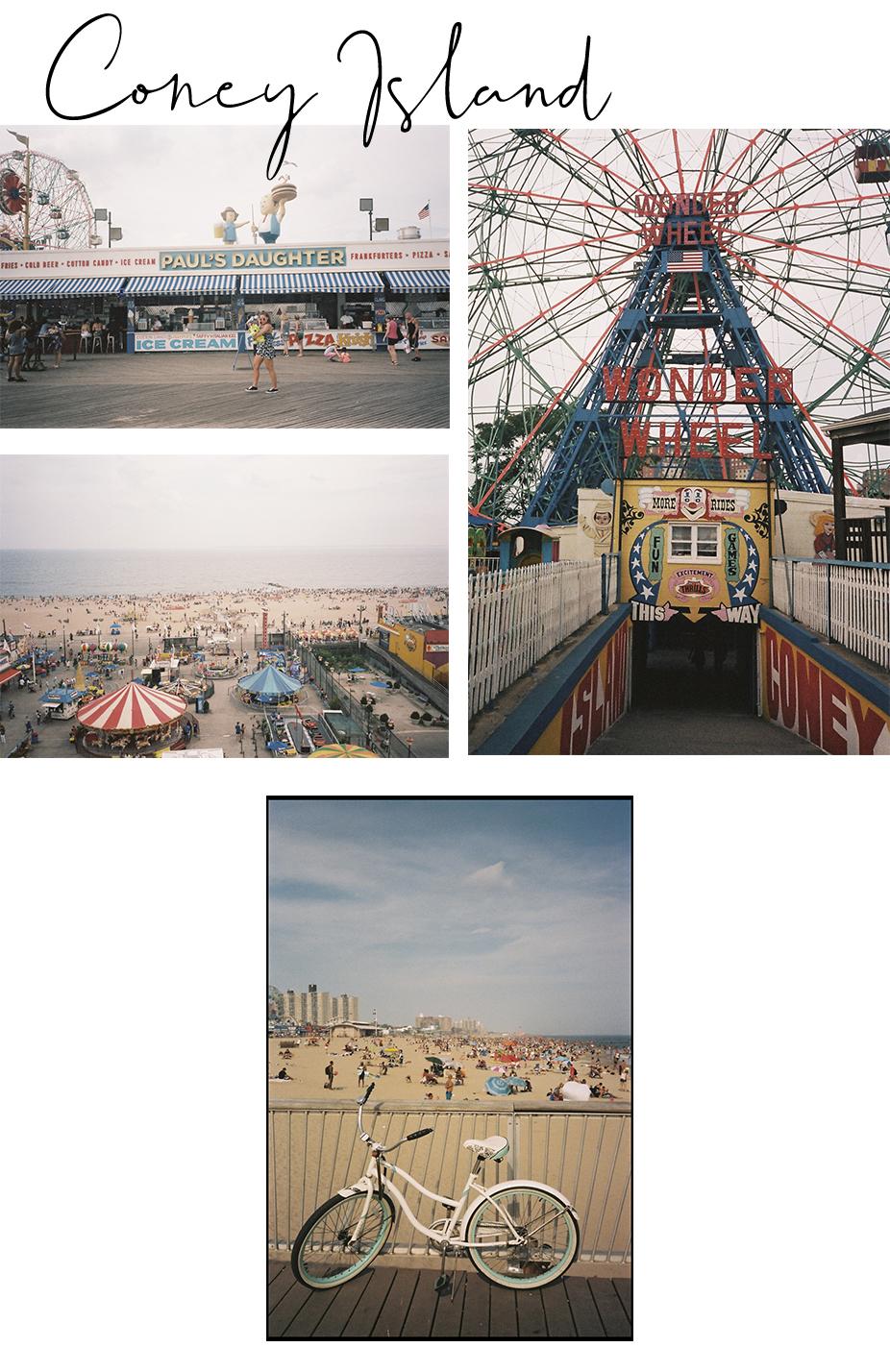 Coney Island New-york photographie argentique