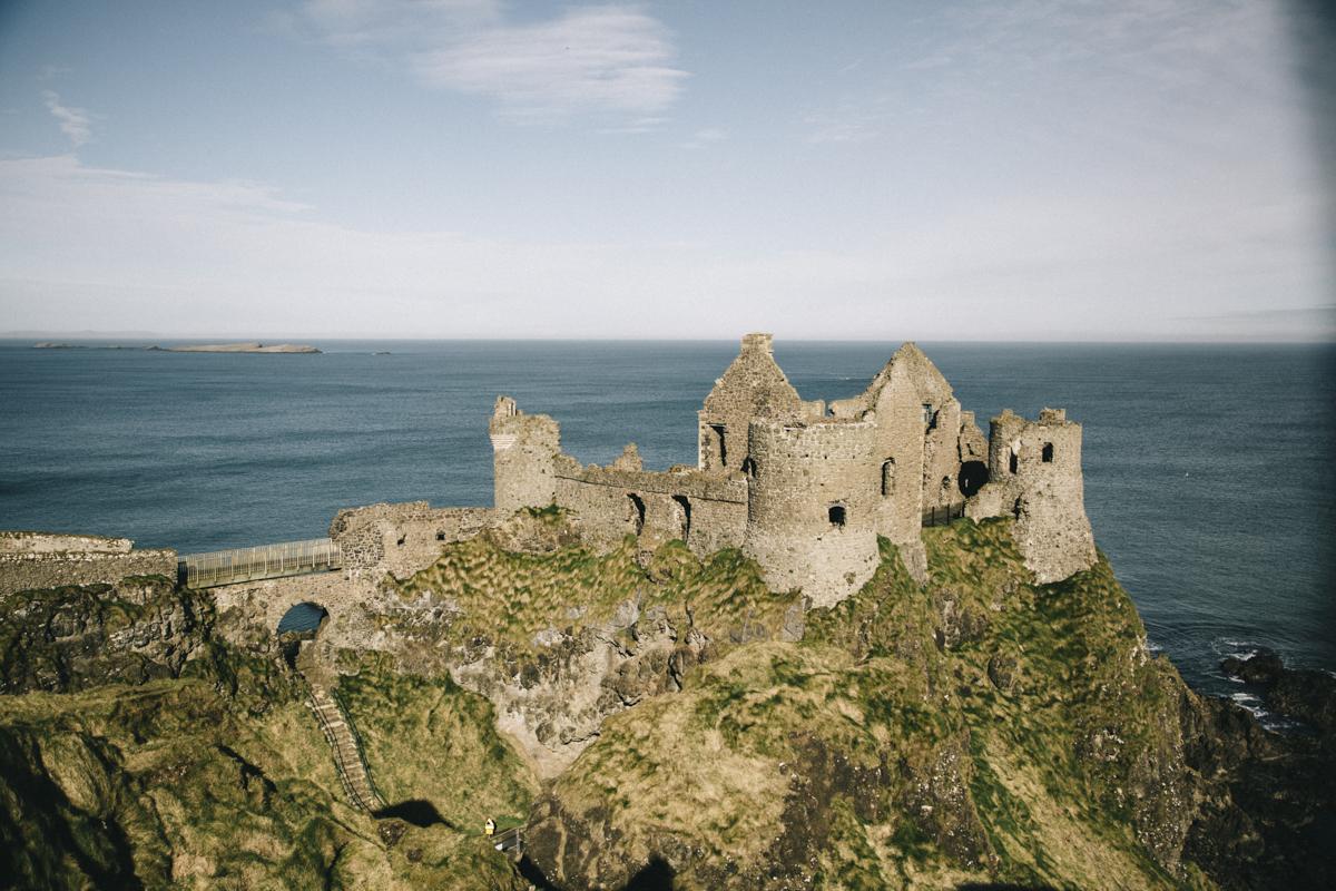 Duncule Castle Irlande du nord Giant's causeway