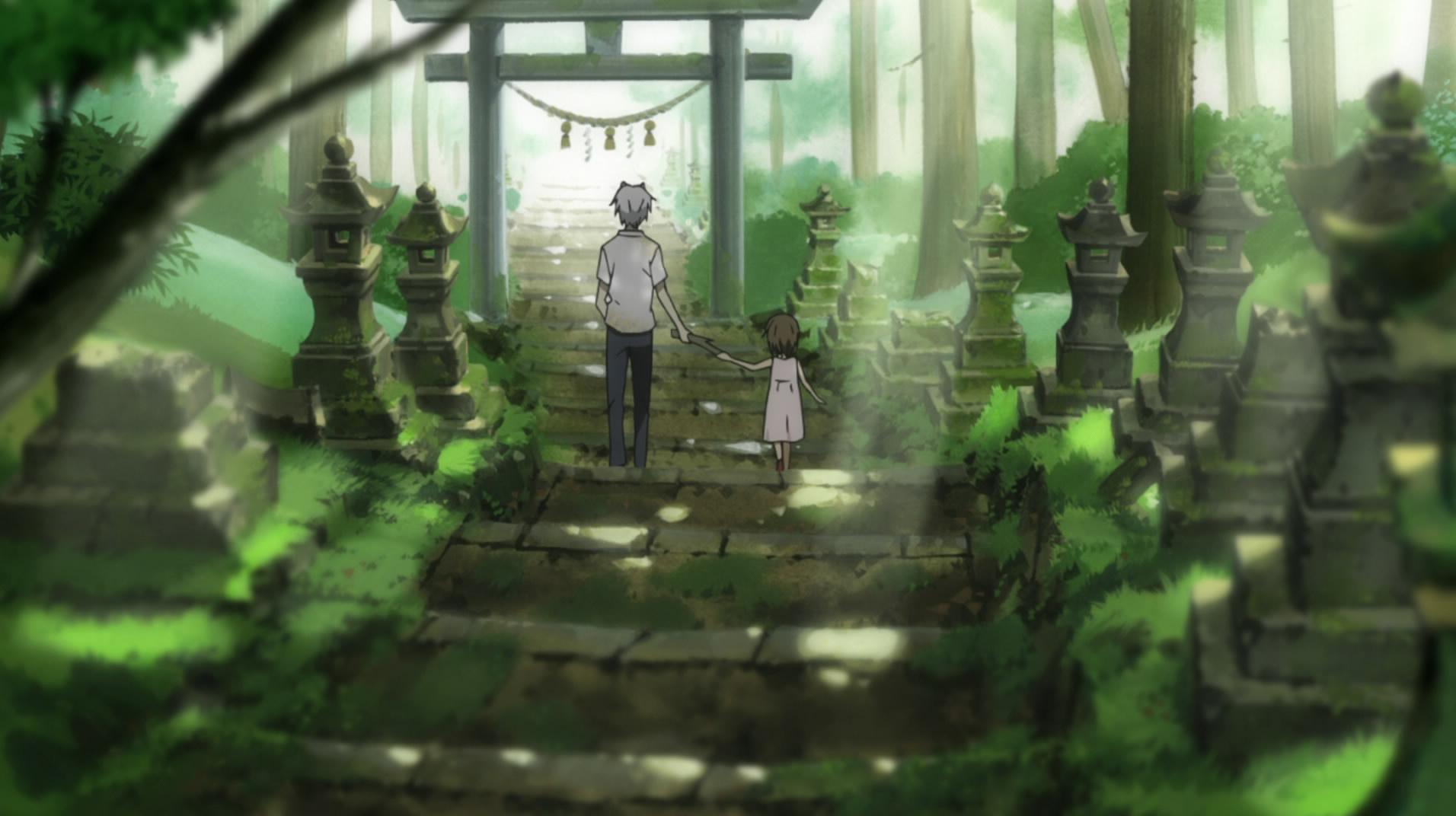 Manga inspiré par Kamishikimi shrine