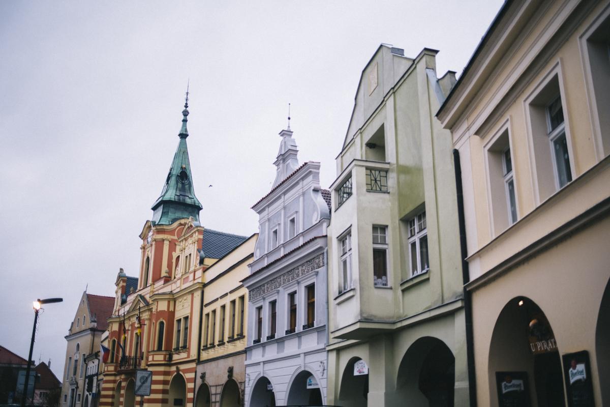 Melnik Boheme Place centrale