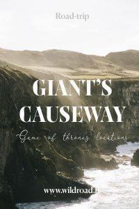 road-trip Giant's causeway Irlande du nord