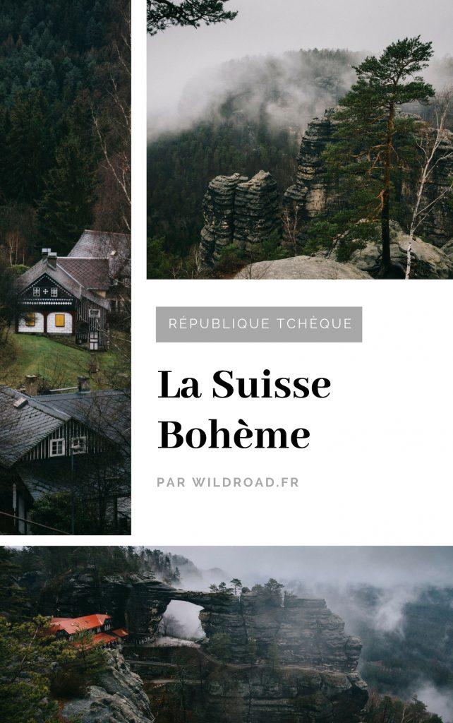 Suisse Bohème randonnée république tchèque