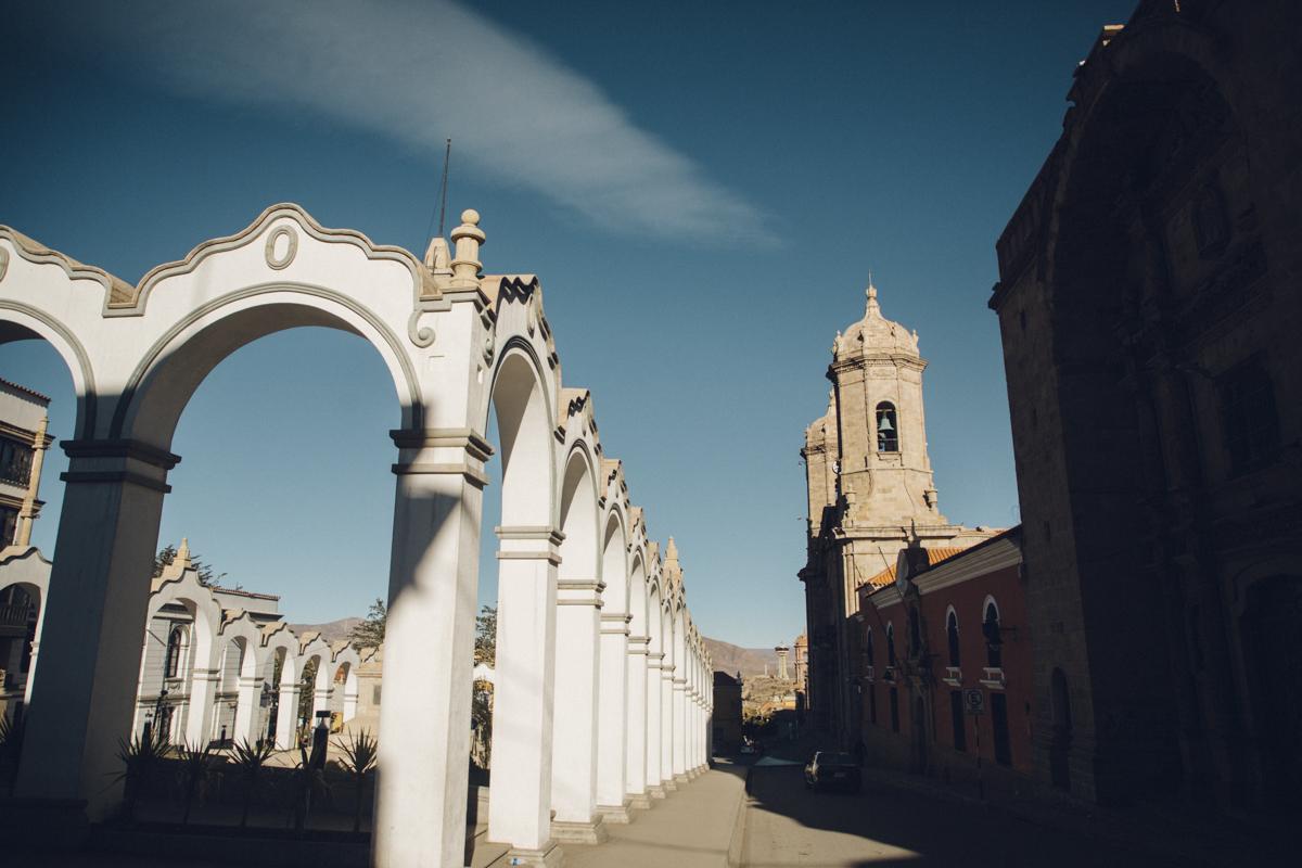 arcades coloniales Potosi