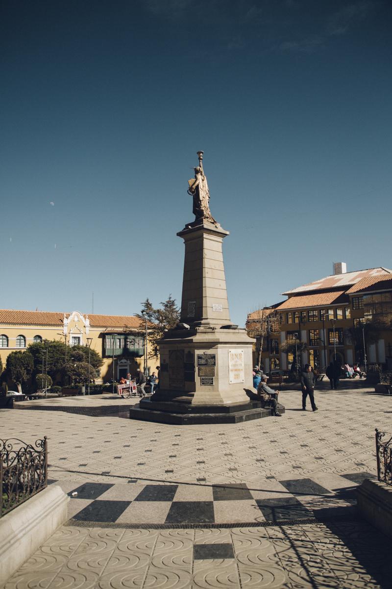 Plaza de 10 novembre potosi