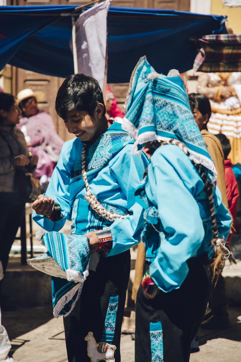 Saint Bartolomé Potosi costumes