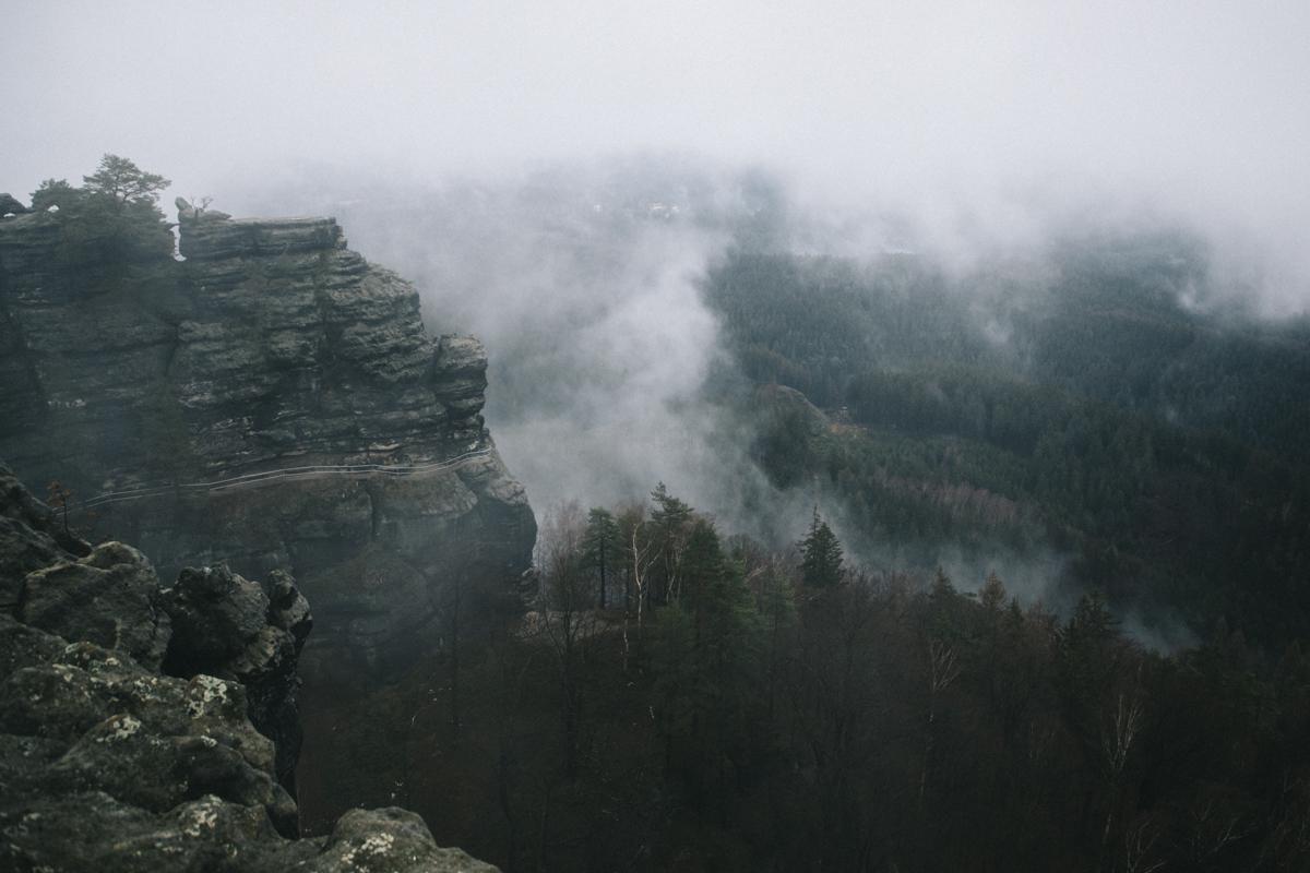 Pravcicka Brana Suisse Boheme république tchèque