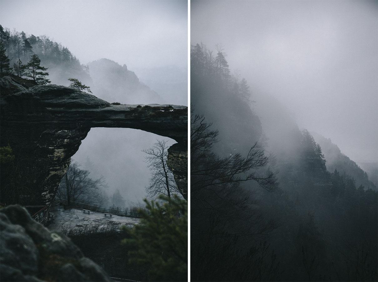 Pravcicka Brana Suisse Boheme randonnée république tchèque