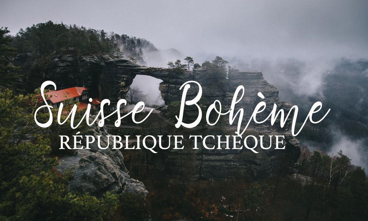 Suisse Bohème République tchèque