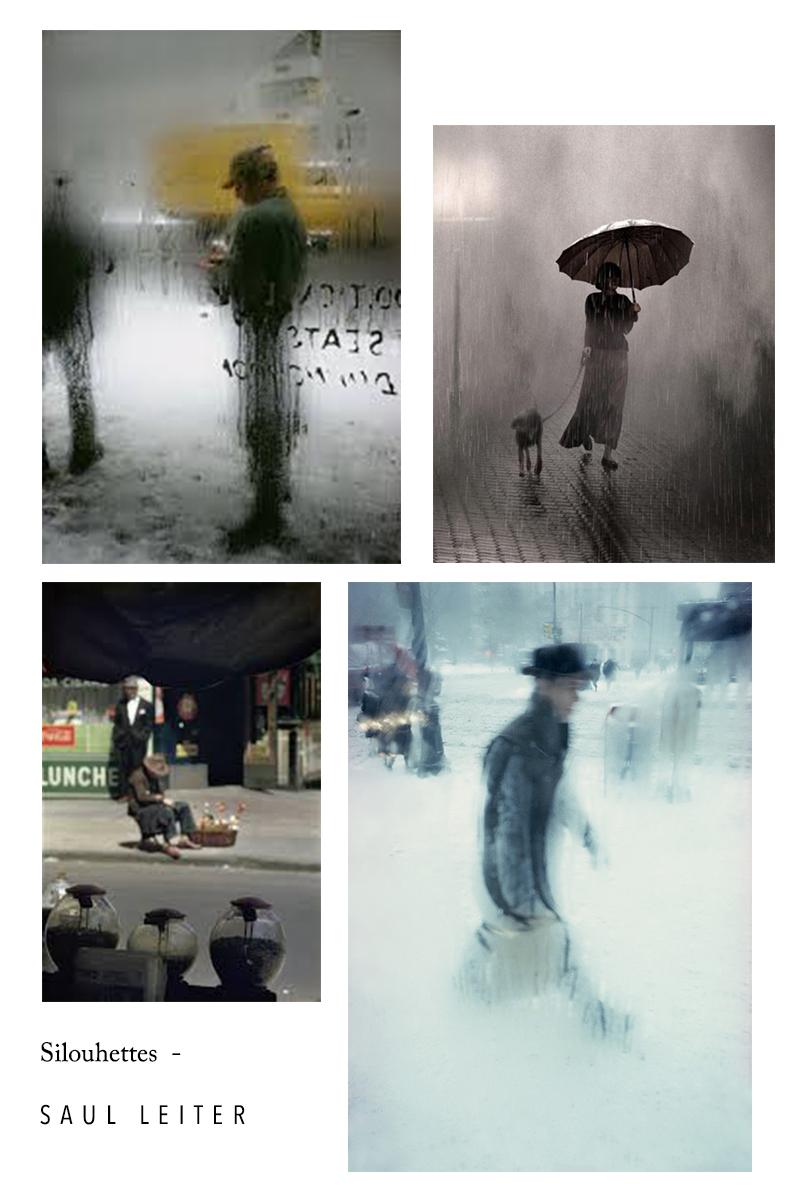 Saul Leiter Silhouette photographe americains