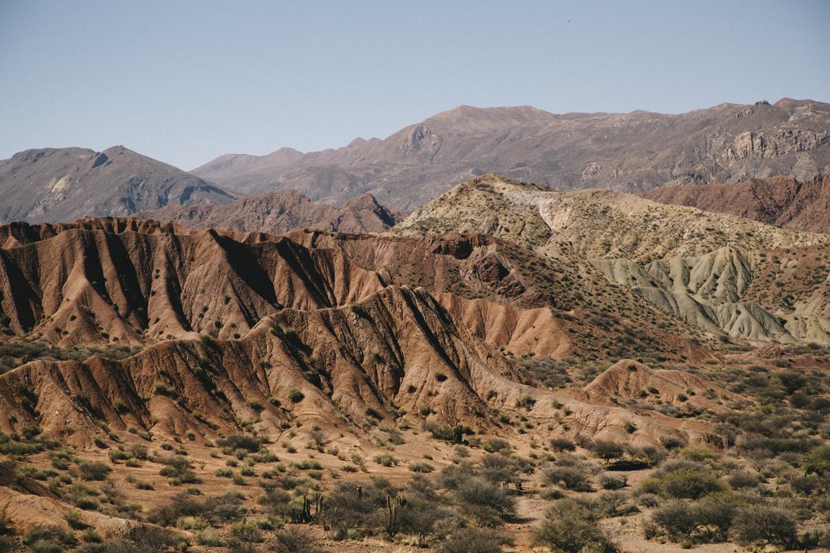Paysage désertiques Tupiza