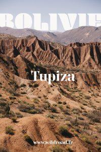 visiter Tupiza en bolivie