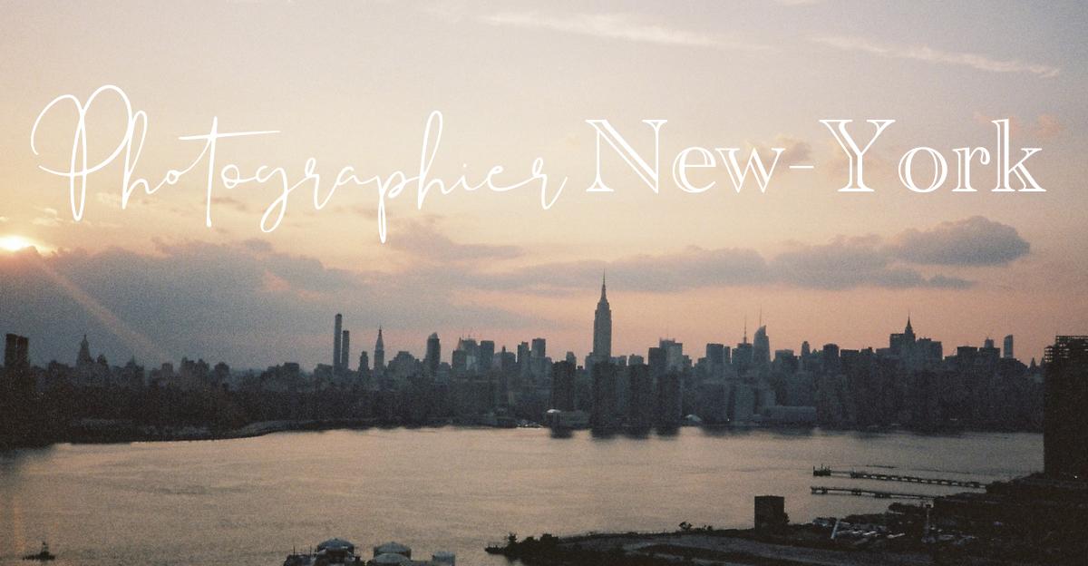 Photographier New-York argentique photographie