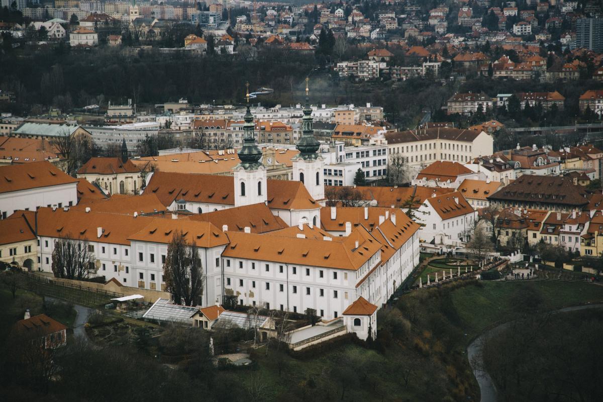 Tour de Petrin Prague belvédère monastère starhov